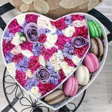 """Цветы с макарони """"Сладостная музыка"""""""