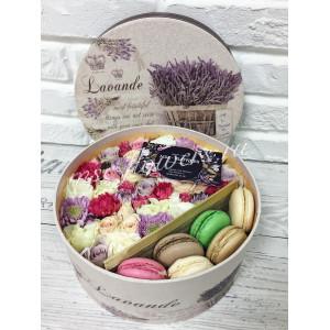 """Цветы с макаронс """"Приятные воспоминания"""""""