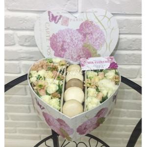 """Цветы с макарони """"Душевный подарок"""""""