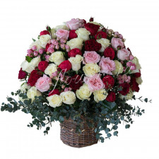 "Корзина ""Аромат роз"""