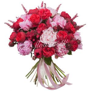 """Букет из роз """"Очарование"""""""