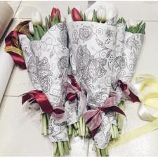 Мини букеты из тюльпанов