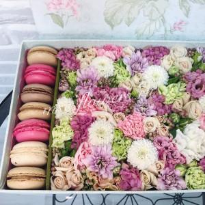 """Цветы с макарони """"Настоящее чудо"""""""
