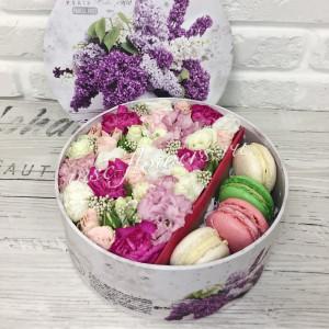 """Цветы с макарони """"Наслаждение"""""""