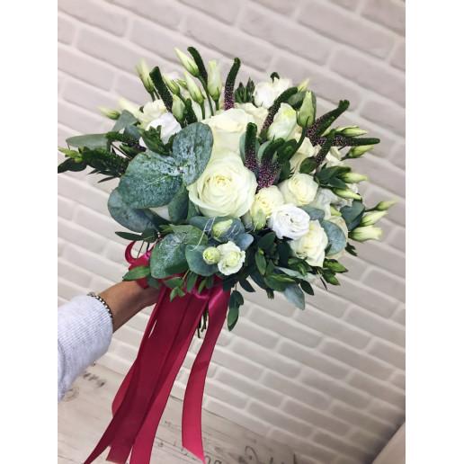 """Букет невесты """"Райская жизнь""""  вариант 2"""
