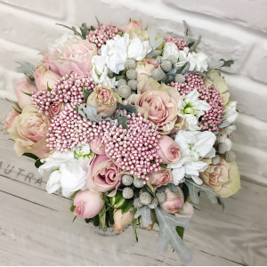 """Букет невесты """"Розовое кружево"""""""