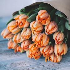 """Букет тюльпанов """"Рыжик"""""""