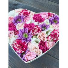 """Коробка с цветами """"Прованс"""""""