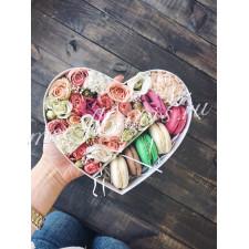 """Цветы с макарони """"Любовь"""""""