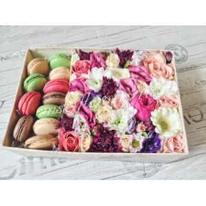 """Цветы с макарони """"Сладкие мечты"""""""
