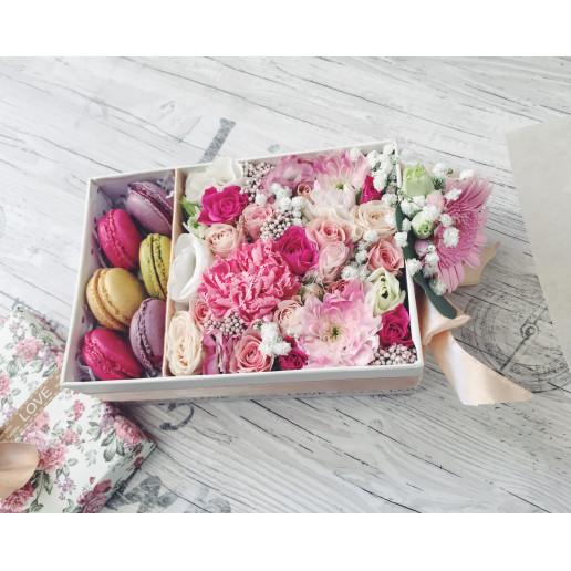 """Цветы с макарони """"Амели"""""""