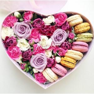"""Цветы с макарони """"Элегия"""""""