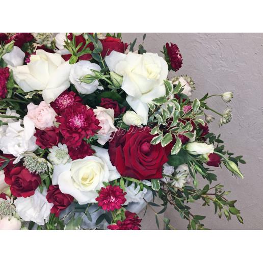Цветочные композиции из роз