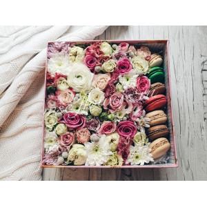 "Цветы с макарони ""Улыбка"""