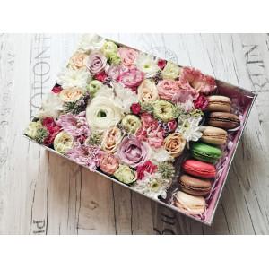 """Цветы с макарони """"Забава"""""""
