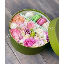 """Цветы с макарони """"Роса"""""""