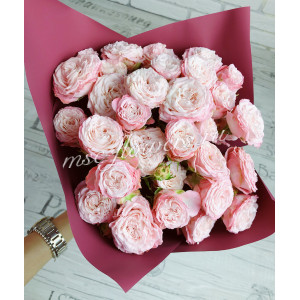"Букет роз ""Бомбастик"" пинк"
