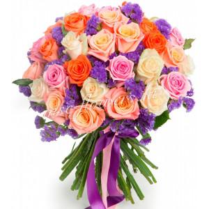 """Букет из роз """"Самоцветы"""""""