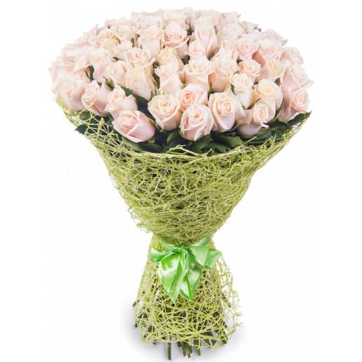 """Букет """"Чудное мгновенье"""" 51 роза"""