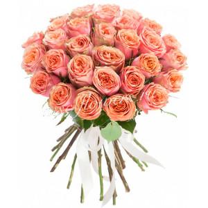 """Букет из роз """"Полуденный зной"""""""